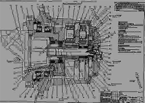 schematic excavator caterpillar  supplementary service information disassembly