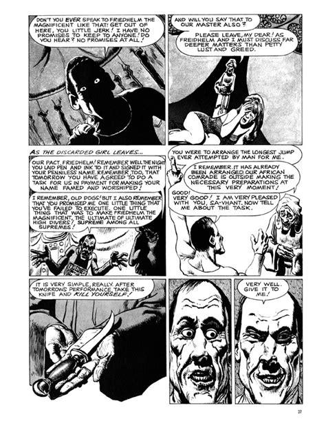 creepy presents richard corben hc profile dark horse comics