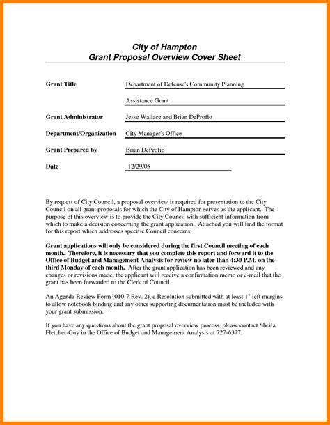 grant application sample cover letter samples cover