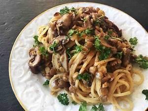 Pilz Rezepte Vegetarisch : spaghetti mit linsen pilz rahm sauce pastamaniac ~ Lizthompson.info Haus und Dekorationen