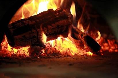 Burn Pizza Burning Wood Oven Animated Brick