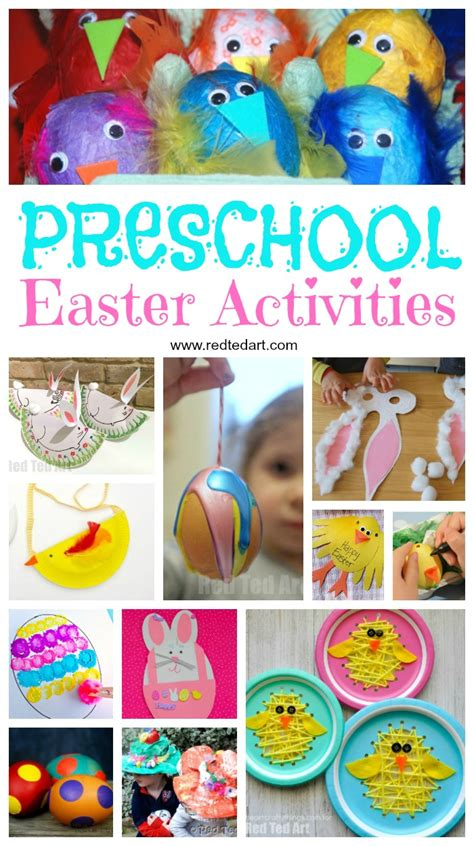 easter preschool crafts ted 305 | Easter Crafts Toddlers