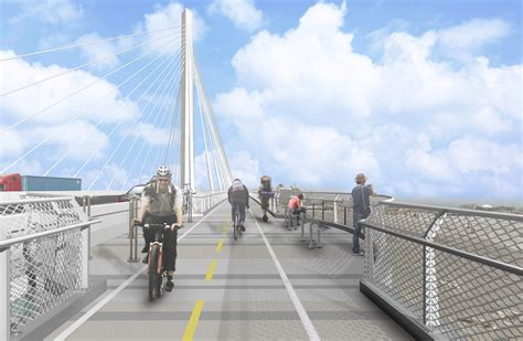 Cablestayed Replacement For Desmond Bridge Unveiled In