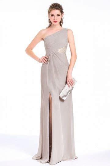 robe grise pour mariage robe pour mariage invit 233 asym 233 trique grise pastel taille