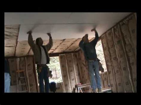 Hanging Drywall On Ceiling By Yourself by Drywallers Hang Drywall Ceiling Lid