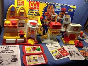 McDonalds Happy Meal Snack Maker : nostalgia