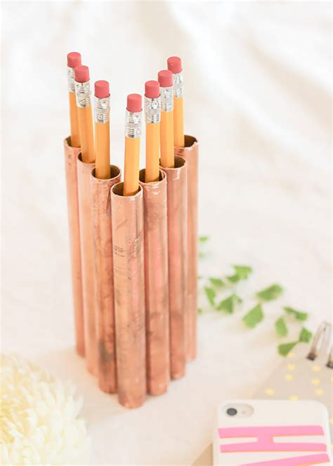 simple diy copper pipe projects    trendy