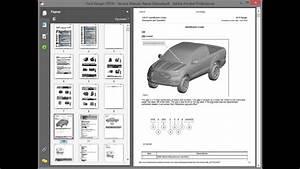 Ford Ranger  2019  - Service Manual    Repair Manual