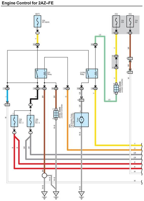 Wiring Diagram Needed For The Fuel System Relays Pump