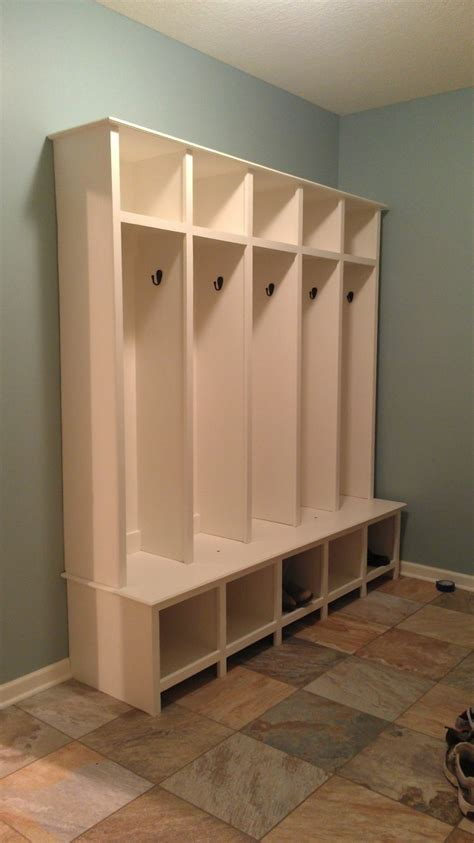 Home Depot Wood Closet Organizers by Mudroom Lockers With Bench For Sale Home Design Ideas