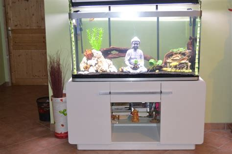meuble aquarium blanc laque meuble laqu 233 blanc pour aquarium