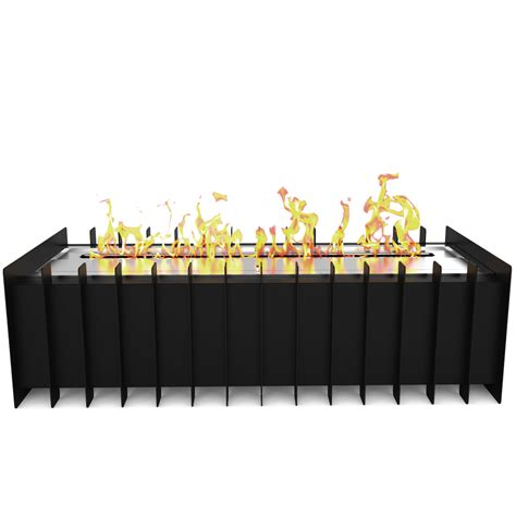 Elite Flame 18 Inch Ventless Bio Ethanol Fireplace Grate