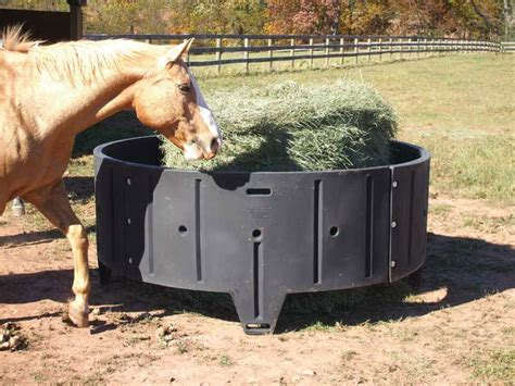 hay feeders for sioux steel poly hay feeders