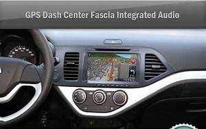 Gps Dash Center Fascia Integrated Audio For Kia 2011