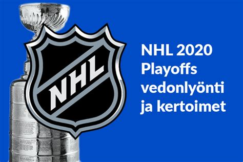 The official home of the national hockey league playoff page including playoff news, bracket, and video. NHL Playoffs 2020 | Kertoimet + Ota eurolla 50 euroa ...