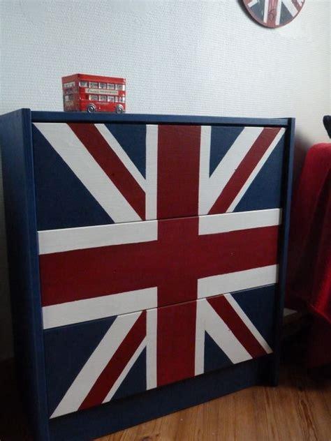 bureau drapeau anglais décoration chambre drapeau anglais