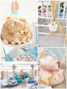 Beach themed bridal shower ideas trueblu bridesmaid for Beach wedding shower