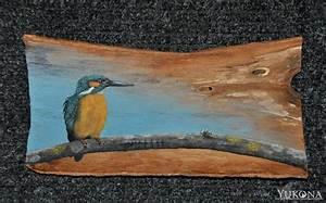 Fotos Auf Acryl : eisvogel mit acryl auf holzrinde foto bild tiere wildlife wild lebende v gel bilder auf ~ Watch28wear.com Haus und Dekorationen