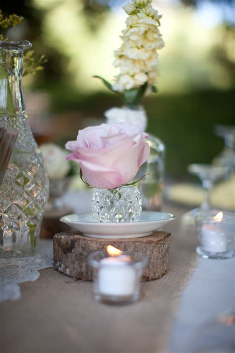 shabby chic wedding centerpieces ideas rustic vintage shabby chic wedding ideas