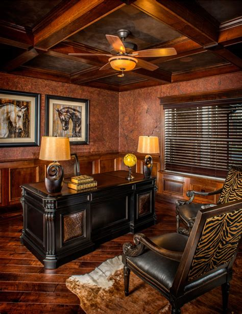 rustic home office designs decorating ideas design