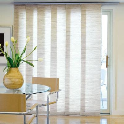 curtains for patio doors with blinds 25 best ideas about sliding door blinds on