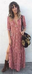 Robe Longue Style Boheme : robe longue boheme chic 2018 pc52 montrealeast ~ Dallasstarsshop.com Idées de Décoration