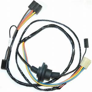 1975 Corvette Wiring Harness  Heater  Without Factory