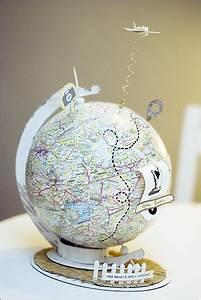 Globus Als Lampe : globus selber basteln my blog ~ Markanthonyermac.com Haus und Dekorationen