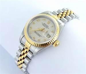Rolex Datejust Damenuhr StahlGold Ref 69173 Top Zustand