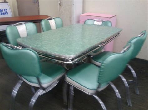 chrome vintage  formica kitchen table  chairs ebay