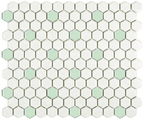 vintage bathroom design 2 porcelain hex tile floor options for your vintage