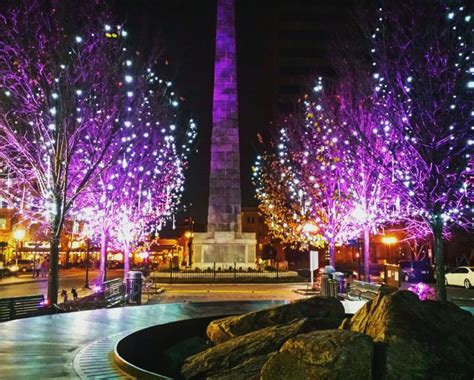 city launches inaugural winter lights downtown