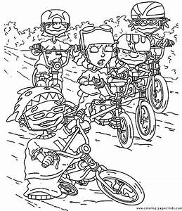 Rocket Power Color Page Coloring Pages For Kids