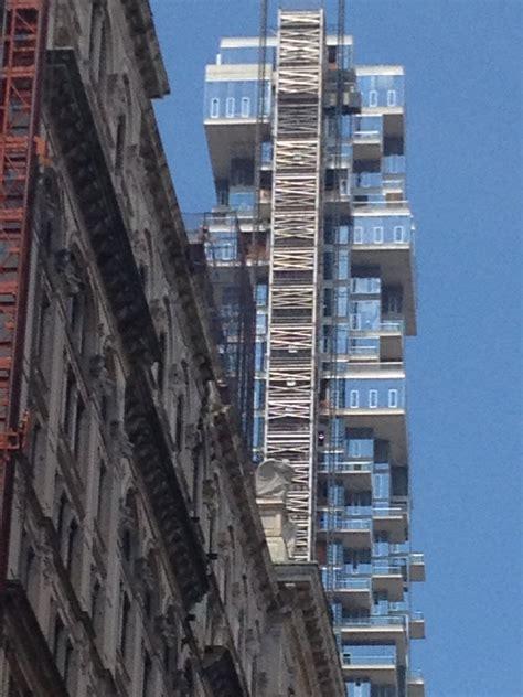 leonard street  york tribeca residential tower
