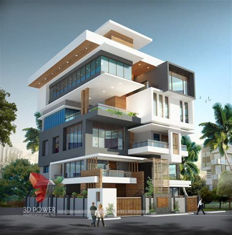 corporate building design  rendering corporate