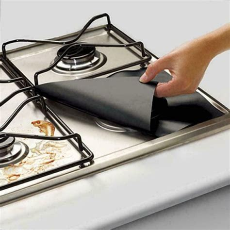 stove gas temperature kitchen protector mat resistance tools protection gadget