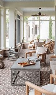 Lowcountry Porch | Residential interior design ...