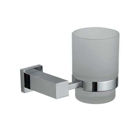 Bathroom Tumbler And Toothbrush Holder Astril Modern Designer Bathroom Chrome Tumbler Toothbrush