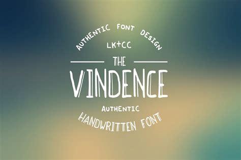 vindence handwritten font display fonts creative market