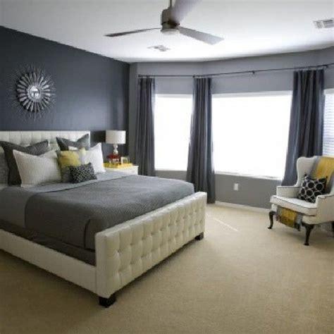 gray walls cream carpet   grey bedroom design contemporary bedroom bedroom colors