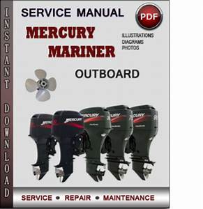 Service Manual Mercury Mariner Outboard 65 75 80 90 100 115 125 Jet