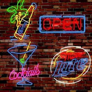 14 neon signs 3d model