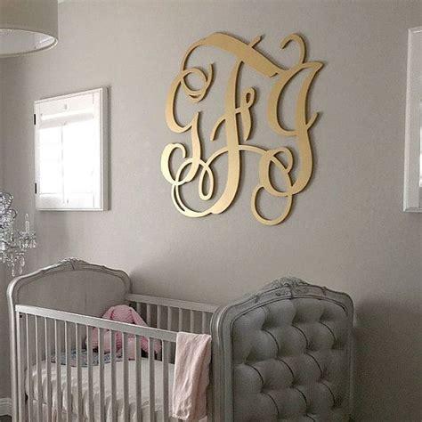 tips   beautiful monogram wall decor  home revosensecom