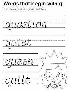 Kid Words That Start With The Letter Q - song words q ...