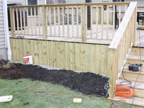 Deck Skirting Ideas by Deck Skirting Ideas My House Will Be Mine
