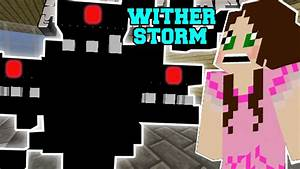 Minecraft WITHER STORM MUTANT WITHER TAKES OVER