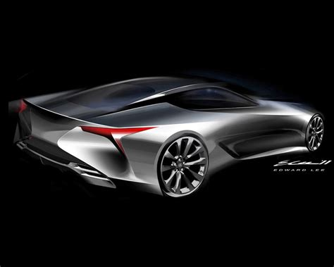 Lexus Lf Lc Hybrid 22 Sport Coupe Design Concept 2018