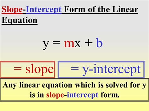 slope intercept form of a linear equation the quarters theory the revolutionary new foreign currencies trading method 2010