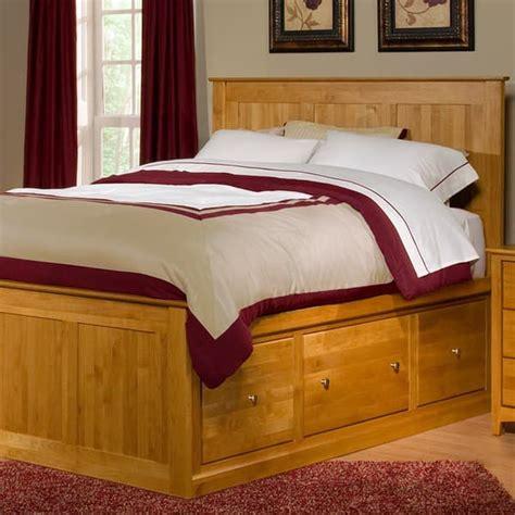 archbold solid alder chest bed  storage drawers