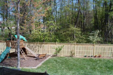 Backyard Fence Company by Yard Fencing Repair Back Front Yard